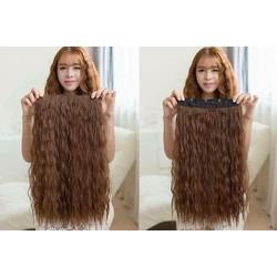 tóc giả kẹp xù