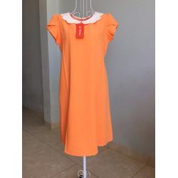 đầm bầu thiết kế - màu cam