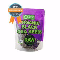 Hạt chia đen Absolute Organic Raw 250g Úc