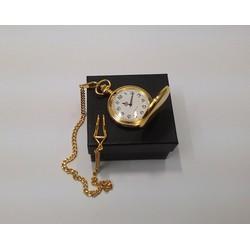 Đồng hồ quả quýt shiny gold