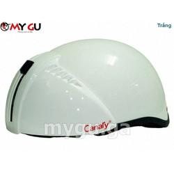 Mũ bảo hiểm cao cấp Canary TP71 - Màu trắng