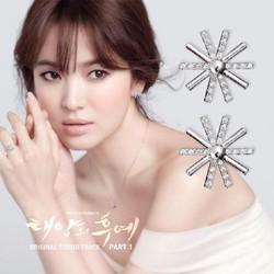 Bộ trang sức Bạc Hoa Cúc SOng Hye Kyo