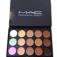 Bộ M.A.C 15 màu che khuyết điểm mặt và môi cho bạn tự tin ra đường 106