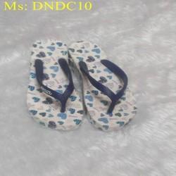 DÉp nữ kẹp cao 5 phân logo sành điệu dễ thương DNDC3