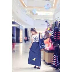 Váy chống nắng Jeans Cao cấp kiểu Hàn Quốc