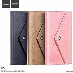 Ví da cầm tay chính hãng HOCO Hongkong HS5 để được điện thoại