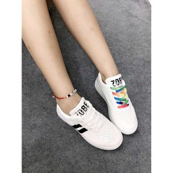 Giày Bata Sọc Dây Màu