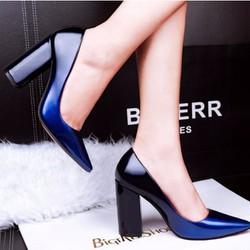 Giày công sở gót vuông sành điệu