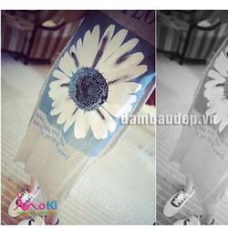 Váy bầu mua hè - váy bầu hoa hướng dương - VB16210