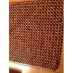 Tấm lót ghế văn phòng hạt gỗ
