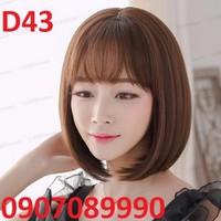 Tóc giả Hàn Quốc có da đầu bao lưới - D43