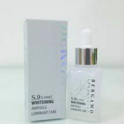 Serum huyết thanh dưỡng trắng da -Whitening Ampoule BERGAMO