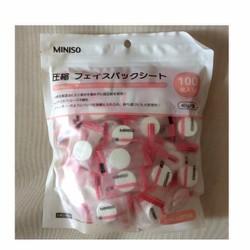 Mặt nạ viên nén Miniso chính hãng, chăm sóc cho da mặt của bạn