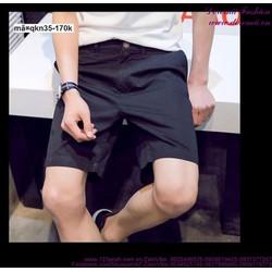 Quần short kaki nam Hàn Quốc phong cách sành điệu