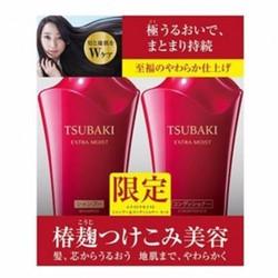 Bộ đôi dầu gội Tsubaki đỏ – shiseido tsubaki shinning