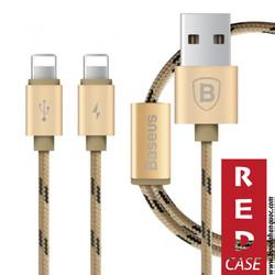 Cáp Lightning 2 đầu cho iphone, ipad, - Baseus Portman Series