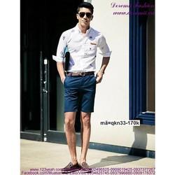 Quần short kaki nam stlye Hàn Quốc trẻ trung sành điệu