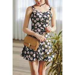 Set Áo + Chân Váy Xòe Korea