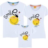 ÁO THUN GIA ĐÌNH SMILE G0004