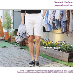 Quần short kaki nam Hàn Quốc trẻ trung sành điệu