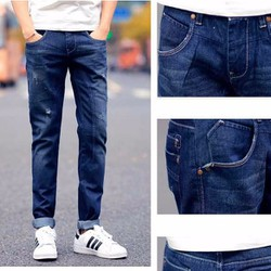 Mã ĐN1044 - Quần jeans nam ĐĂNG NHẬT cá tính, sành điệu