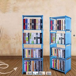 Tủ nhựa sách 4 tầng