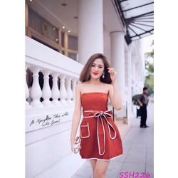 Đầm xòe hở vai xinh xắn - SSH226