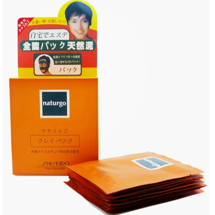 Mặt Nạ Bùn Shiseido Naturgo 1