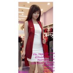 Susu Shop - Set đầm body kèm áo khoác vest - SSH229