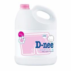 Nước giặt quần áo em bé D-Nee 3000ml hồng