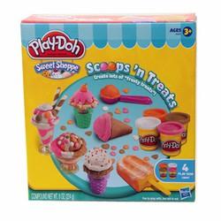 Bộ đồ chơi làm kem que, kem ly, kem ốc quế Play-Doh
