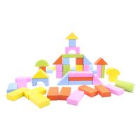 Bộ Xếp Hình Ngôi Nhà Bằng Gỗ Thông Minh Dream Toy 50 Miếng Gỗ