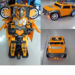 Xe điều khiển biến hình thành siêu nhân 9808, xe robot