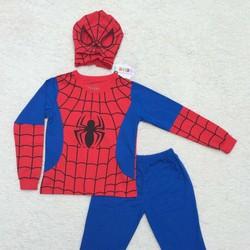 Bộ quần áo siêu nhân Người Nhện Spiderman dài - không kèm găng tay
