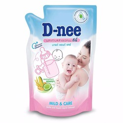 Nước rửa bình sữa và rau quả Dnee 700ml