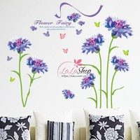Hoa xanh tím mùa xuân