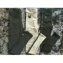 quần legging túi sau mickey