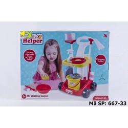 Bộ đồ chơi lau nhà cho bé  -  Giá Cực Sốc