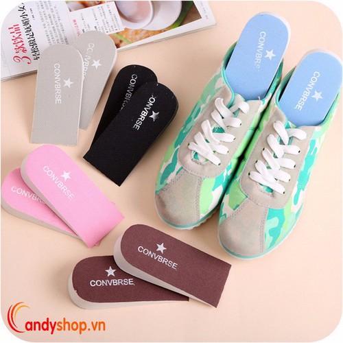 Combo 2 lót giày tăng chiều cao mút xốp candyshop88 vn
