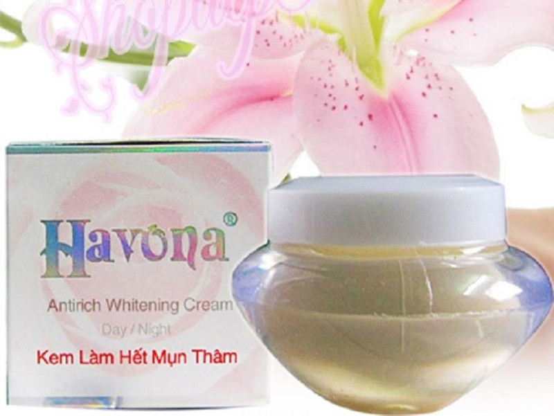 Kem Ngừa Mụn - Ngừa Thâm - Trắng Da HAVONA 5