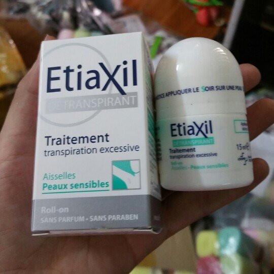 Lăn khử mùi đặc trị Etiaxil 15ml 3