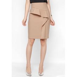 Chân váy ôm thiết kế can bèo
