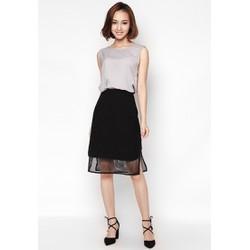 Chân váy ôm thiết kế can lưới