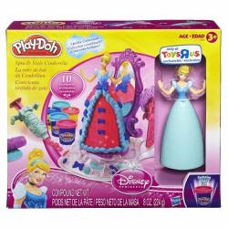 Bộ bột nặn công chúa lọ lem Play-Doh Spin and Style Cinderella