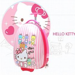 Vali kéo cho bé Hello Kitty