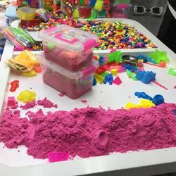 Bộ đồ chơi bể khuôn nặn cát động lực sáng tạo, pt trí tuệ cho bé