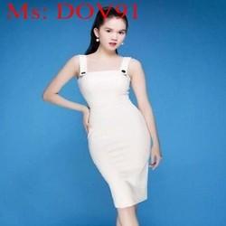 Đầm body cúp ngực 2 dây xinh đẹp thời trang DOV91