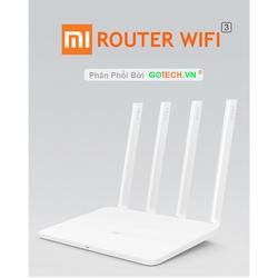 Bộ phát wifi Xiaomi - Gen 3 với 4 Râu Trắng