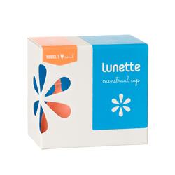 Cốc nguyệt san Lunette - màu san hô, cỡ 1