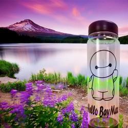 Bình nước My Bottle Baymax + tặng kèm túi dây rút